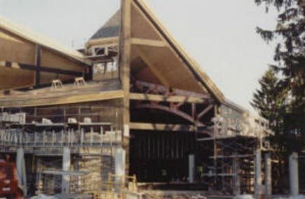 Construction of Corpus Christi.