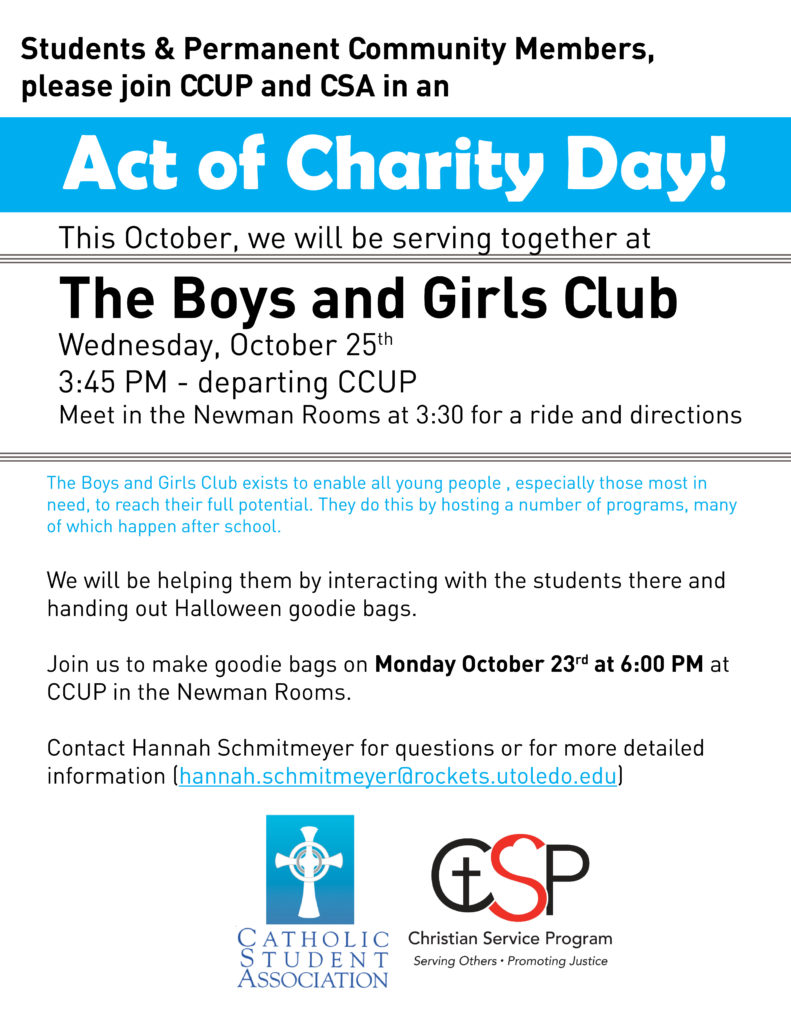 Act of Charity Day - Boys and Girls Club