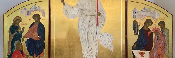 The Icon of the Risen Christ.
