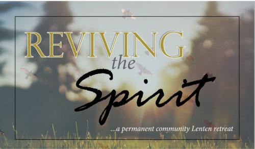 Parish Lenten retreat wordpress ad