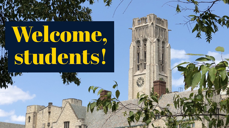 Welcome-Students