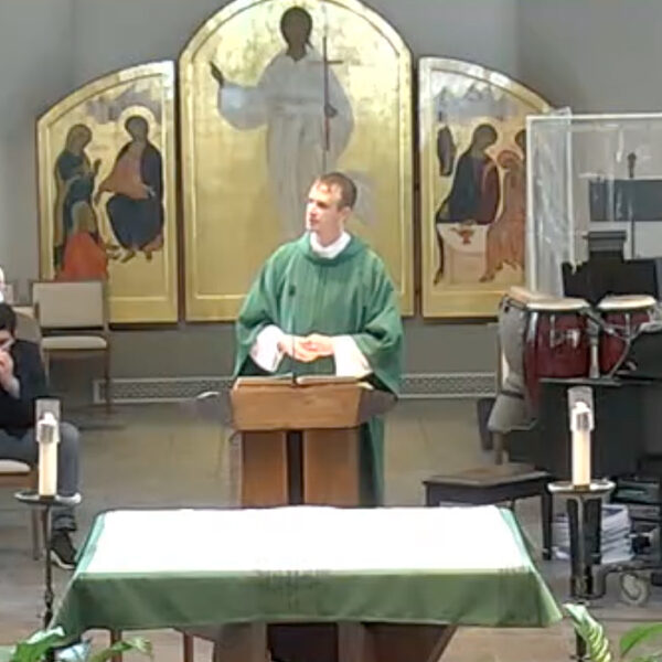 Feb07-Homily-DeaconJustin-2021
